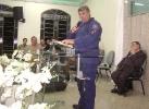 Culto abençoado em Biguaçú