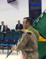 Grande participação de militares neste culto