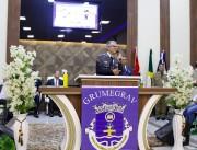 Dia 12.09 culto militar em Gravatal